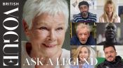Judi Dench Answers Questions From 18 Of Her Most Famous Fans