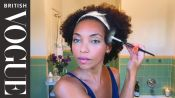 Logan Browning's Guide To Smudge-Free (And Mask-Friendly) Makeup