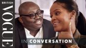 Edward Enninful Meets Rihanna