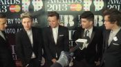 One Direction Style at The Brits 2013: Interview for Vogue TV