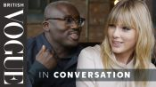 Taylor Swift Tries Out Her Best British Slang On Edward Enninful
