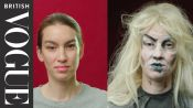 Easy Halloween Make-Up: Zombie Girl | British Vogue