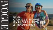 Camille Rowe Explores Fitness & Movement