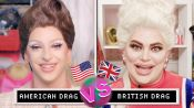 Drag Queens Miz Cracker & Baga Chipz Compare American & British Drag | The World's Our Stage