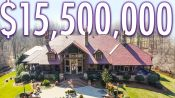 Inside A $15.5M Hidden Mansion With A Luxury Car Barn