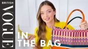 Watch Miranda Kerr Break Down Exactly What's In Her Dior Bag