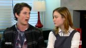 "Brie Larson and Miles Teller on ""The Spectacular Now"""