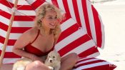 Margot Robbie Channels Marilyn Monroe for Vanity Fair