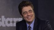 Benicio del Toro's Fans Have a Funny Way of Greeting Him