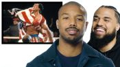 Michael B. Jordan Reviews Boxing Movies with Director Steven Caple Jr.