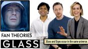 Glass Fan Theories With James McAvoy, M. Night Shyamalan & Sarah Paulson