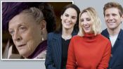 The Cast of Downton Abbey Reviews Maggie Smith's Most Iconic Moments