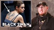 Tattoo Artist Bang Bang Reviews Movie Tattoos, from 'Moana' to 'Black Swan'