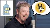 John DiMaggio (Futurama's Bender) Improvises 11 New Cartoon Voices