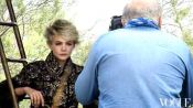 Carey Mulligan Tries On Couture in the French Countryside