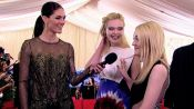 Elle and Dakota Fanning Are Excited to Experiment with Fashion