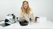 Suki Waterhouse Unboxes the Ultimate Juicer