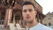 Around the World in 3 Minutes with Male Model Garrett Neff