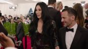 Cher and Marc Jacobs at the Met Gala 2015
