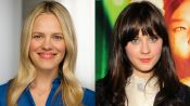 Zooey Deschanel's Natural-Looking Flushed Cheeks
