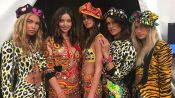 Katy Perry, Caitlyn Jenner, Cindy Crawford, and More Get Groovy at Moschino's L.A. Show