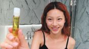 Korean Model Hoyeon Jung's Steps for Perfect Skin and a Two-Tone Lip