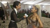 Ariana Grande on Her Sistine Chapel Ceiling Dress