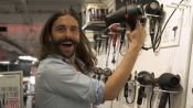 Queer Eye's Jonathan Van Ness Eats Bacon and Shops for Beauty Products With Vogue