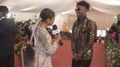 21 Savage on Attending His First Met Gala