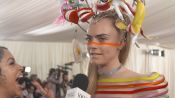 Cara Delevingne on Her Over-The-Top Met Gala Look