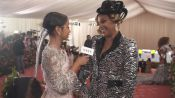 "Tiffany Haddish Pets Liza Koshy and Calls Her Outfit ""Pimperella"""