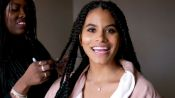 Zazie Beetz Gets Ready for the Joker Premiere