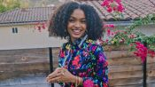 Yara Shahidi Talks Tinkerbell, Shows Off Her Karate Moves and Plays Cornhole