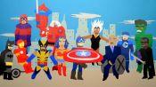 DC vs. Marvel: Box Office Battle   Data Attack
