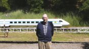 Meet the 89-Year Old Who Built a Train in His Backyard