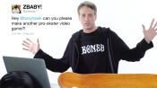 Tony Hawk Answers Skateboarding Questions From Twitter