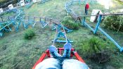 How This Guy Built a Roller Coaster In His Backyard