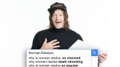 Norman Reedus Answers the Web's Most Searched Questions