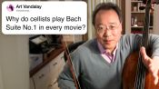 Yo-Yo Ma Answers Cello Questions From Twitter