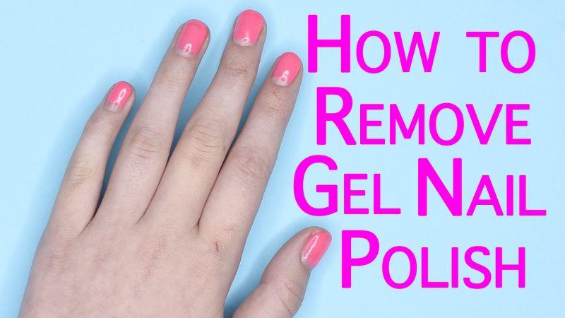 Watch Nail Art Tutorials | How to Remove Gel Nail Polish | Allure ...