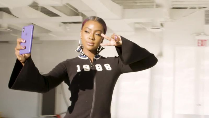 Justine Skye Shares Her Tips for Perfect Purple Hair - Interview