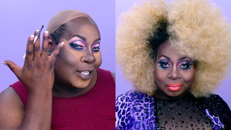 Watch Transformation Tutorials   RuPaul's Drag Race Star Latrice Royale's Drag Transformation Tutorial   Allure Video   CNE