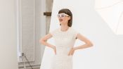 Coco Rocha Races to Complete Three Different Looks at NYFW