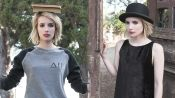 From Nice to Naughty: Emma Roberts for the 2014 Elkin LookBook