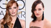 Jessica Chastain's 2015 Golden Globes Hair and Makeup Tutorial