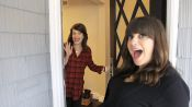 Marla Sokoloff  Shows Us Her Boudoir