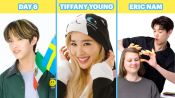 Day6, Eric Nam, Tiffany Young and More K-Pop Artists Try 9 Things They've Never Done Before