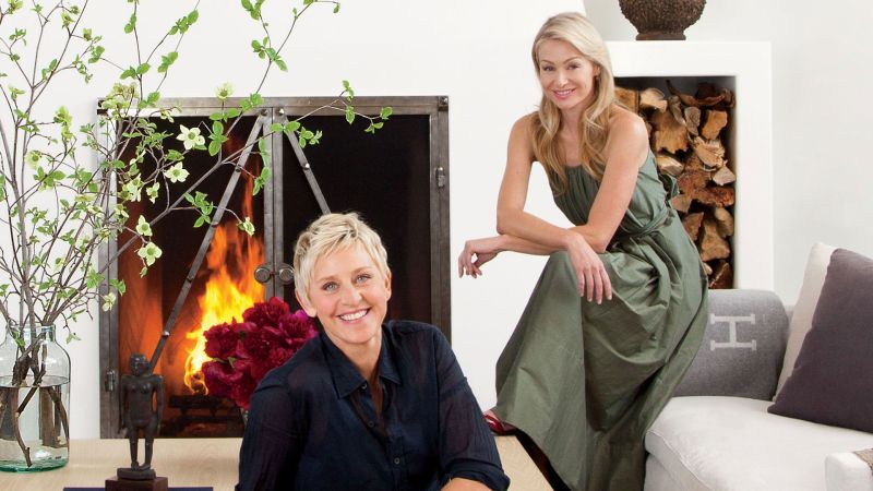 Inside Ellen DeGeneres and Portia de Rossi's House in