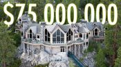 Inside a $75M Lake Tahoe Mansion with a Hillside Tram