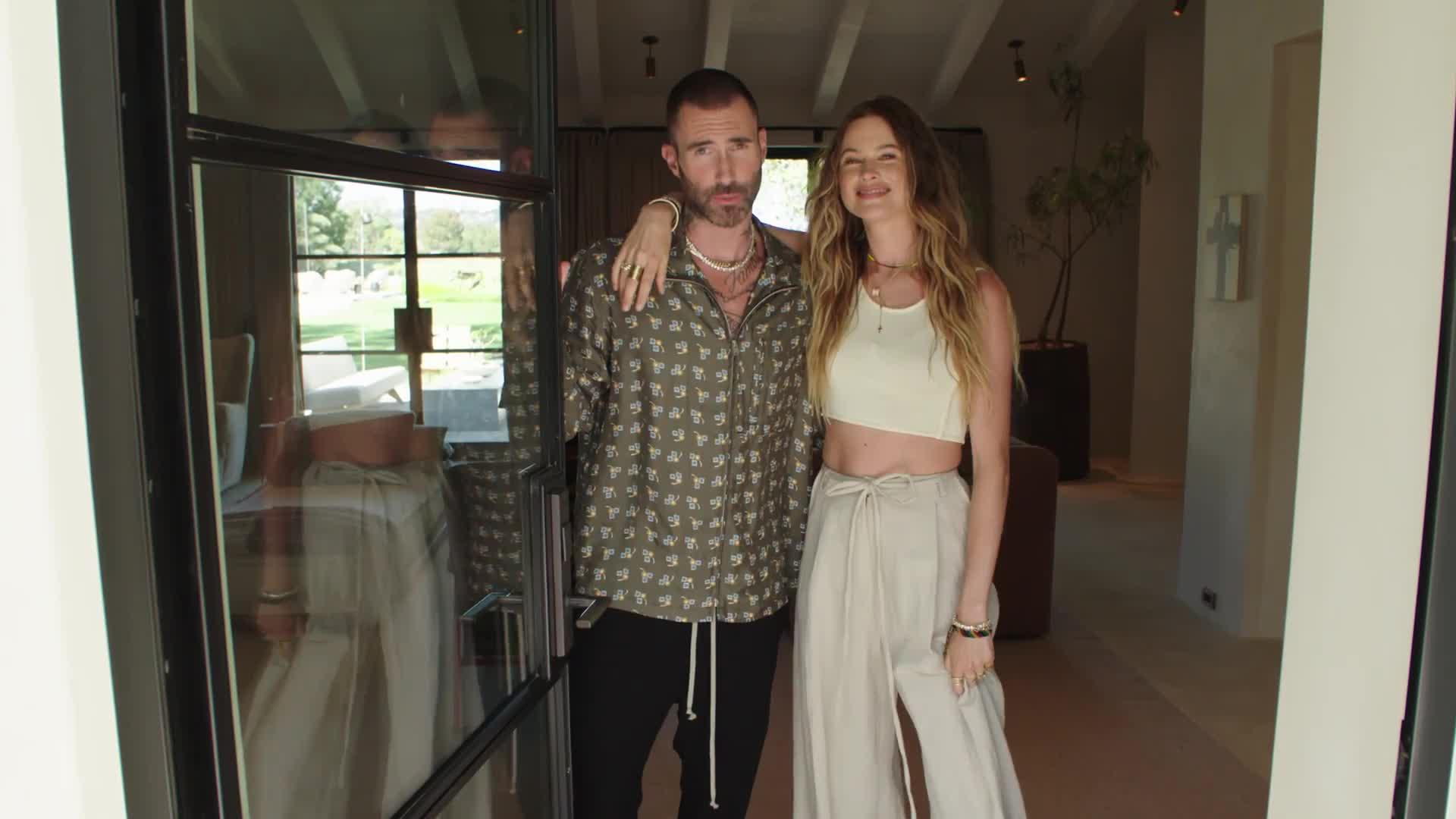 Bienvenue chez Adam Levine et Behati Prinsloo à Los Angeles